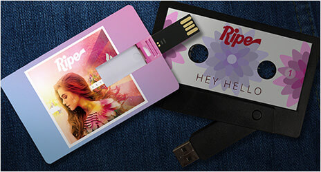 USB Music Cards