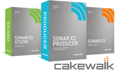 Cakewalk SONAR X3 Producer | Professional Recording, Mixing