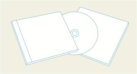 Jewel case Templates