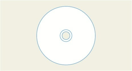 CD Template, DVD Template by Disc Makers