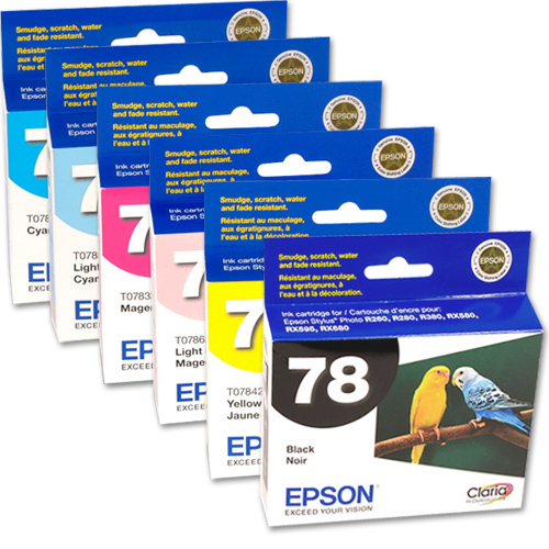 epson printer how to change cartridge before expended