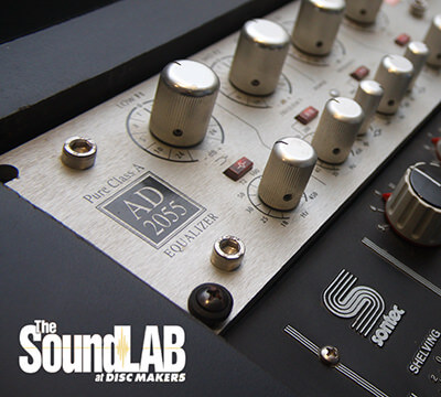 The SoundLAB at Disc Makers